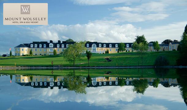 2 Nights B&B at Mount Wolseley Hotel, Spa & Golf Resort, Carlow