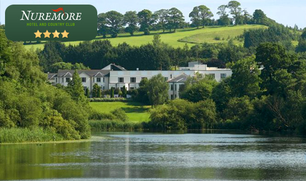 Summer Special: €95 for 1 night or €175 for 2 nights' B&B for two, Afternoon Tea or a Round of Golf each, €20 Resort Dining Credit and Late Checkout at Nuremore Hotel and Country Club, Co. Monaghan