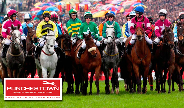 Admission on any 1 day of the Punchestown Racing Festival plus €10 Betting Voucher