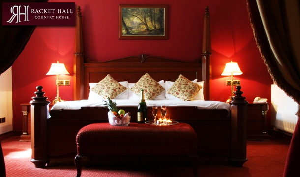 Racket Hall Country House Hotel: 1 or 2 Nights B&B for 2 with Late Checkout at the Racket Hall Country House Hotel, Tipperary