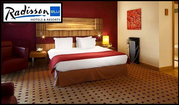 Radisson Blu, Cork: 1 Night Stay for 2, including breakfast at the superb 4 Star Radisson Blu Hotel & Spa, Cork