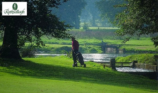 €89 for 3 Ball in Rathsallagh Golf Course with breakfast and a return green fee pass, Dunlavin, Co Wicklow!