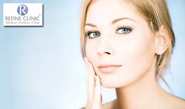149 for Anti-Wrinkle Injections in 1 Area, 200 for 1ml of Dermal Filler or 400 for Hyperhydrosis Anti-Sweat Treatment at Refine Clinic, D2