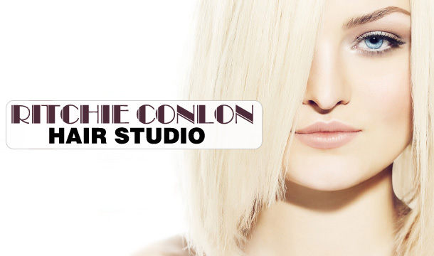Ritchie Conlon Hair Salon: Wash, Cut, Blowdry & Conditioning only €19 or with Half Head of Meche Highlights only €39