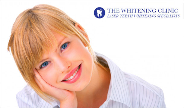 Full Professional Teeth Whitening at The Whitening Clinic Dublin & Kildare! 55 for a 30 minute Express Top-Up Treatment or 89 for a 60 minute Full Treatment