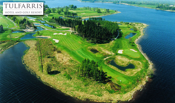 Tulfarris Hotel & Golf Resort: €30 for a 2 ball or €60 for a 4 ball at the stunning Tulfarris Hotel & Golf Resort, Wicklow