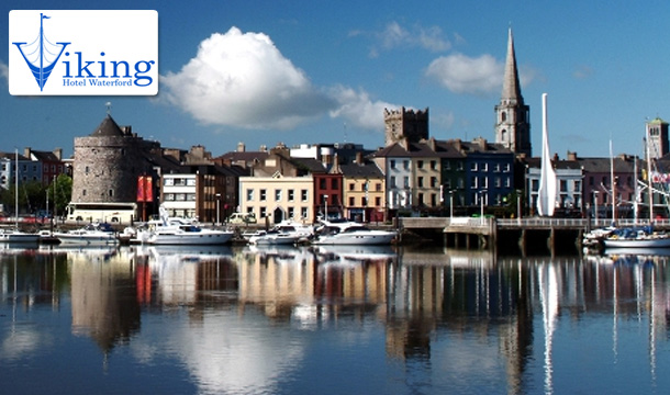€49 for 1 Night or €89 for 2 Nights for a Weekend Break for Two - each including Breakfast! - at the Viking Hotel, Waterford City