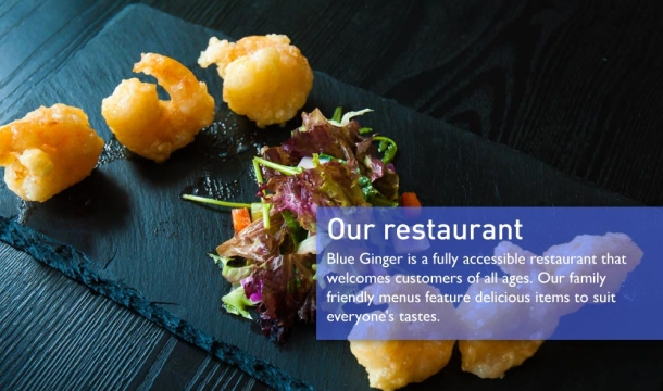 Blue Ginger: Enjoy 2 Main Courses and 2 Glasses of Wine for just €22 at Blue Ginger, Dun Laoghaire