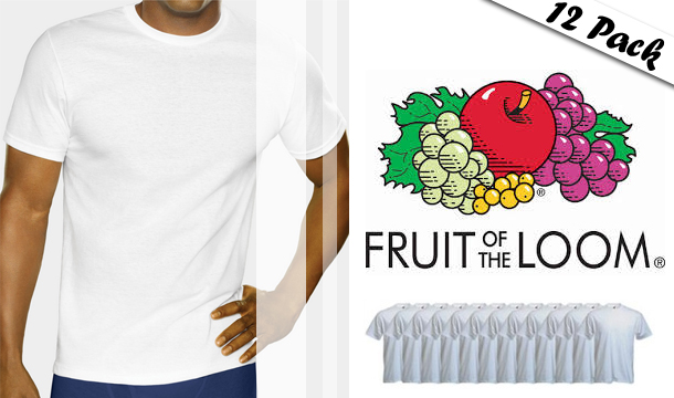Dealco: Fruit of the Loom T-shirts