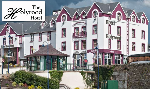 Holyrood Hotel: 2 Nights for Two including Breakfast, Dinner & Spa Treatment at the Holyrood Hotel, Donegal