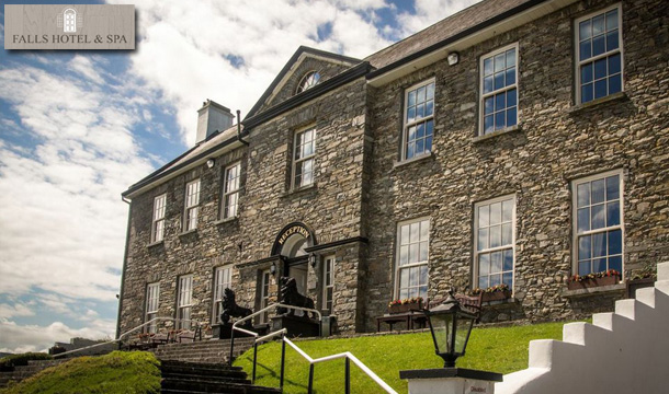 Falls Hotel & Spa: 2 Nights B&B for 2 with a Bottle of Wine & Tea/Scones at the Falls Hotel and Spa, Clare