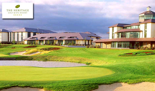 €149 for 1 Night B&B for 2 in a Deluxe Room plus extras at the 5* Heritage Golf and Spa Resort