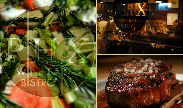 PHX Bistro: Enjoy a Magnificent Meal with Wine for 2 at PHX Bistro, Dublin 7.