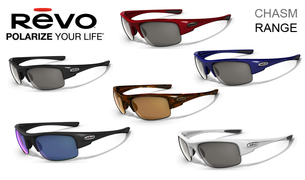 Stock Clearance - €39 for a pair of Oakley owned REVO Polorized CHASM Range Sunglasses, 6 Styles to choose from, delivered! (Worth up to €159!)