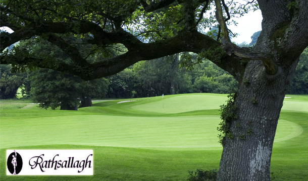 €59 instead of €108 for a Round of Golf for 2 Plus a Goodie Bag each at Rathsallagh Golf Course, Co Wicklow!