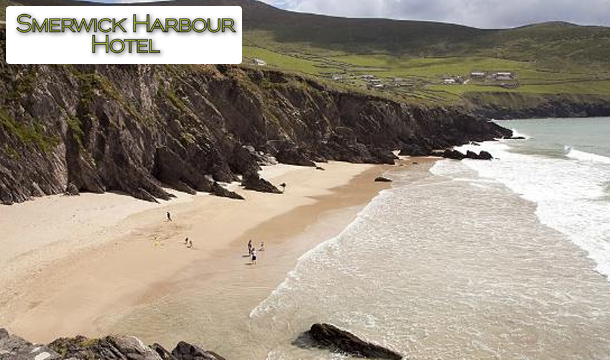 €99 for 2 nights for Two including Breakfast - plus kids stay free! - at the Smerwick Harbour Hotel, Dingle, Co. Kerry