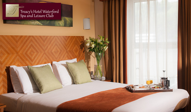 €199 for 3 Nights stay for a Family of up to 5 including Breakfast, €40 Spa Credit, Wine, Cookies, Kids Camp and Access to the Pool and Thermal Suite at Treacys Hotel and Spa, Waterford