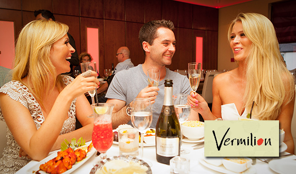 Vermilion: Enjoy a €40 Food Voucher from the A La Carte Menu in Vermilion Restaurant, Terenure for only €20