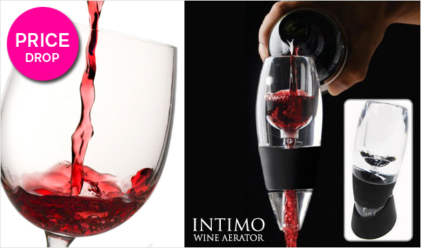 Gift for Wine Lovers - 18.99 for an Intimo Wine Aerator, delivery included!