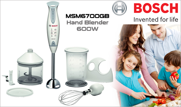 49.99 for Bosch MSM6700GB Hand Blender Plus Accessories, Delivered!