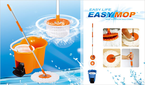 loveyourbeanbag.com(Core Gifts): Spin Dry Mop