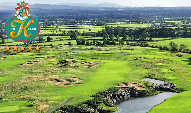 €109 instead of €300 for a Summer 2 Ball at the 18 Hole Smurfit Course, followed by a Burger and Fries each in The River Side Café at the Exclusive K Club