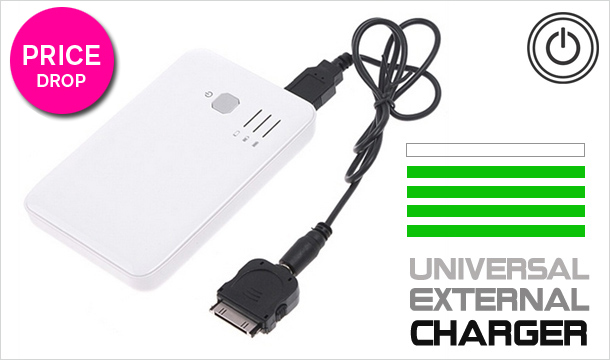 Stock Clearance - €19.99 for a Universal External Charger, delivery included!