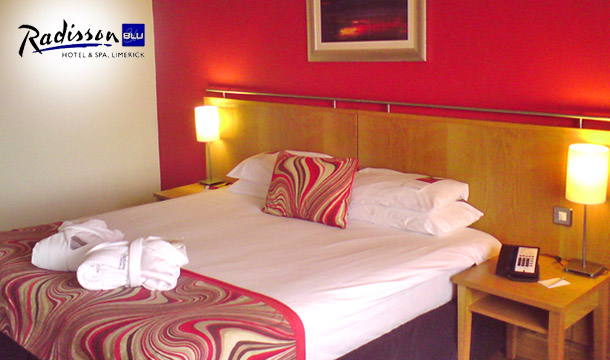 Radisson Blu Hotel & Spa, Limerick: Luxury 2 Night Room Only for 2 in the 4 Star Radisson Blu Hotel & Spa