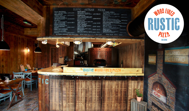 Rustic Pizza: 2 Course Meal for 2 at The Award Winning Rustic Pizza, Leixlip, Kildare