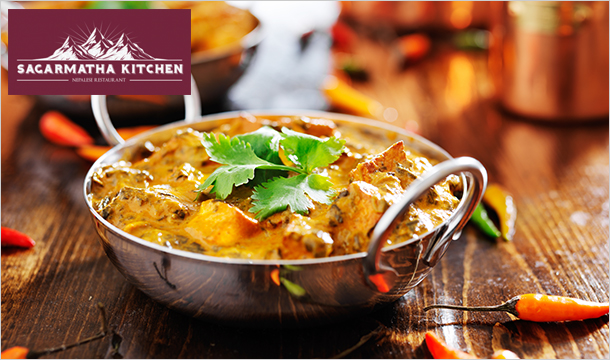 Sagarmatha: Enjoy €40 for 2 or €80 for 4 people to spend on Food & Drink at Sagarmatha Kitchen, Swords