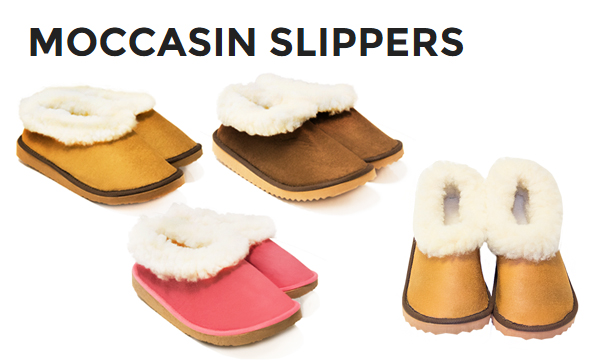 EnjoymyProduct: Moccasin Slippers