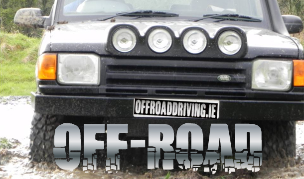 Off Road Driving Experience Gift Voucher. €55 for 1, €99 for 2 or €149 for 3 People at Killashee House Hotel, Naas with Offroaddriving.ie