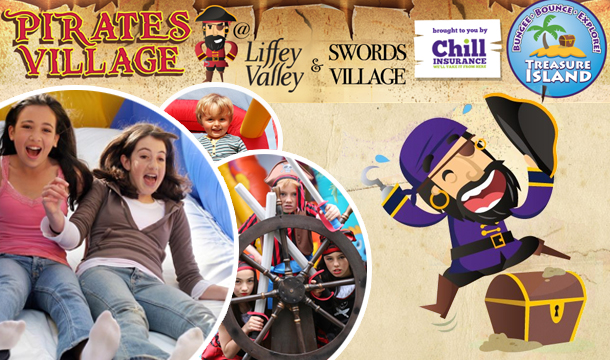 €5 for Single Admission to the Pirates Village for 2 Hours in Liffey Valley or Swords.