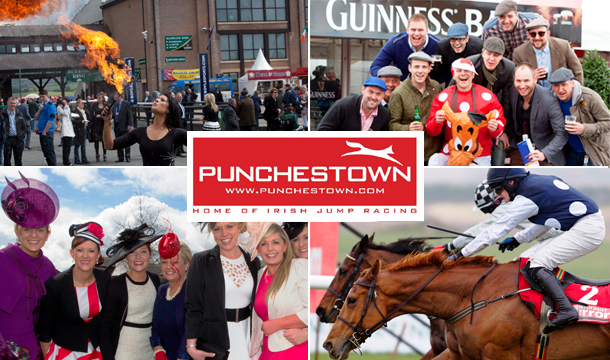 €25 for Reserved Enclosure Admission on any 1 day of the Punchestown National Hunt Festival Plus €10 Betting Voucher, Tuesday 29th April to Saturday 3rd May 2014.