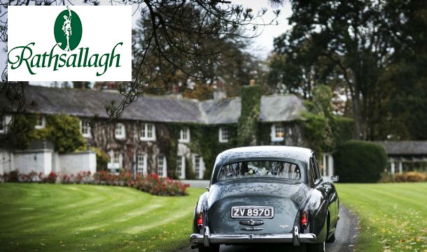 Rathsallagh House & Golf Club: 1 Night B&B for 2 with Prosecco and a €30 Beauty Credit at the Rathsallagh House