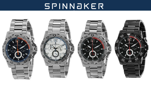 €95 for Men's Spinnaker Laguna Watch in a Choice of Styles, Delivered. Worth up to €430!