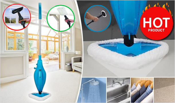 €79 for a Multi-Purpose Steam Mop Plus Micro-Fibre Pad & Accessories, delivered!