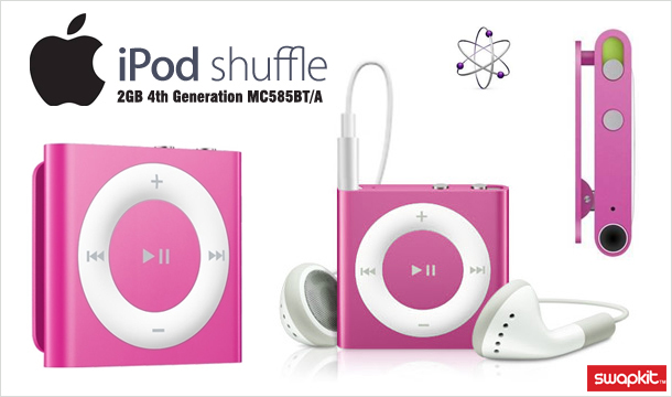 €34.99 for a genuine Apple 2GB Pink iPod Shuffle (4th Generation), Delivered!